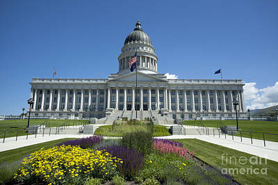 Mellow Yellow - Utah State Capitol by Anthony Totah