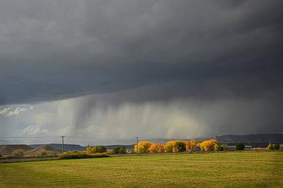 Utah Storm - 2 Art Print by Dana Sohr