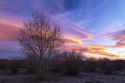 Utah Sunset Art Print by Dustin  LeFevre