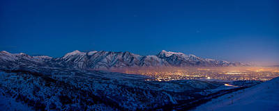 Utah Valley Art Print by Chad Dutson