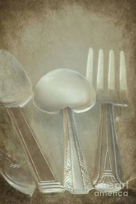 Utensils Art Print by Sophie Vigneault