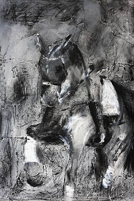 Canter Painting - Uthopia by Adrian McMillan