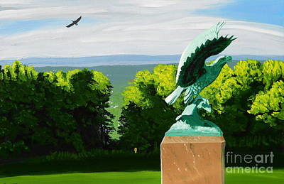 Outreach Painting - Utica Eagles by Robert Coppen