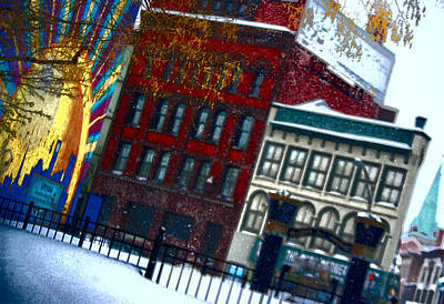Photograph - Utica In The Winter by Stephanie Grooms