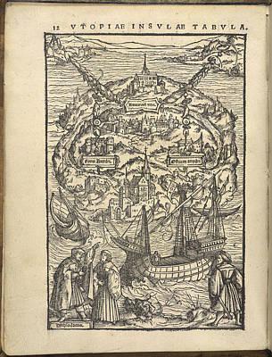 Illustration Technique Photograph - Utopia by British Library