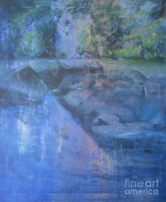 Mystical Landscape Painting - Utopia by Jane  See