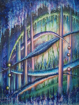 Painting - Utopia by Krystyna Spink