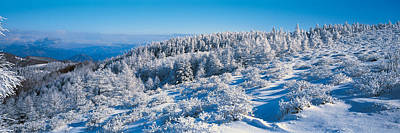 Snow Drifts Photograph - Utsukushigahara Nagano Japan by Panoramic Images