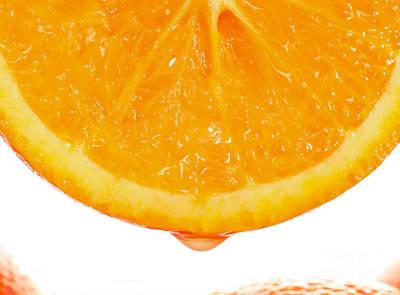 Utterly Orange Print by Paul Cowan