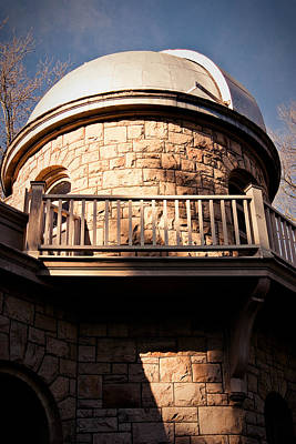 Photograph - Uw Observatory by Erin Kohlenberg