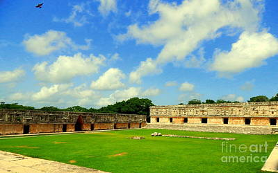 Photograph - Uxmal Spirit Of The Nunnery Quad Yucatan Mexico by Michael Hoard