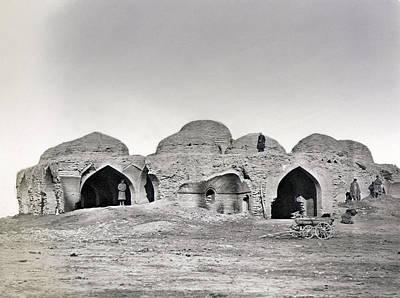 Uzbekistan Caravanseray Art Print