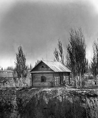 Photograph - Uzbekistan Log Cabin by Granger