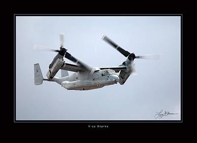 V-22 Osprey Art Print by Larry McManus