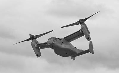 Osprey Mixed Media - V-22 Osprey by Maj Seda