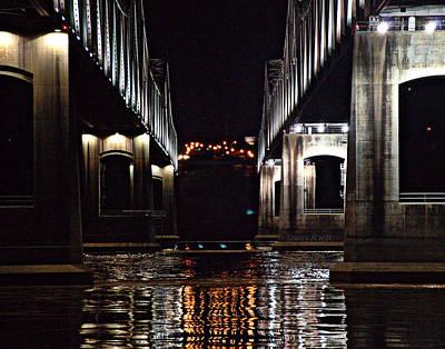 V Bridge Art Print by Stan  Smith