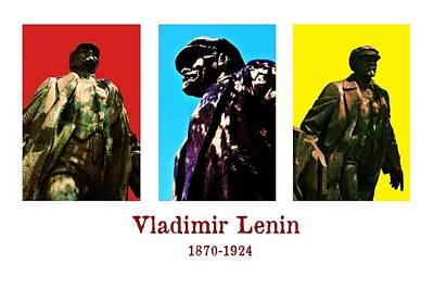 Lebowski Photograph - V. I. Lenin by Benjamin Yeager