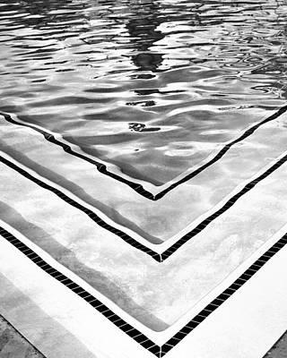 V Shape 2 Palm Springs Art Print