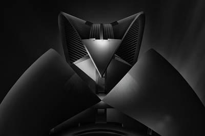 Sky Line Photograph - V Space II by Juan Pablo De