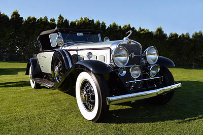Photograph - V16 Caddy by Bill Dutting