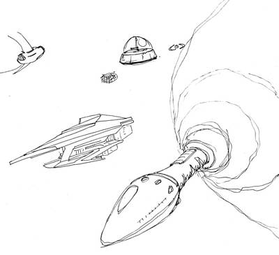 spacecraft drawings page 2 of 2 fine art america