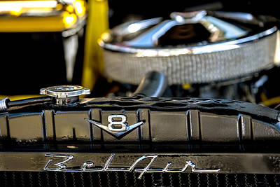 Photograph - V8 Bel Air by Melinda Ledsome