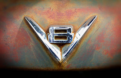 V8 Ford Art Print by Bud Simpson