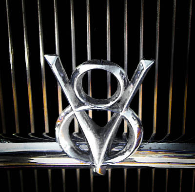 Photograph - V8 Ford by Christy Usilton