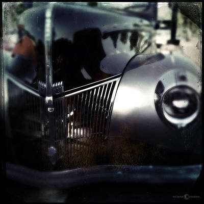 Photograph - V8 Grill by Tim Nyberg