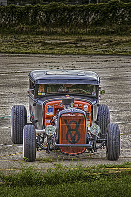 Photograph - V8 by Jack R Perry