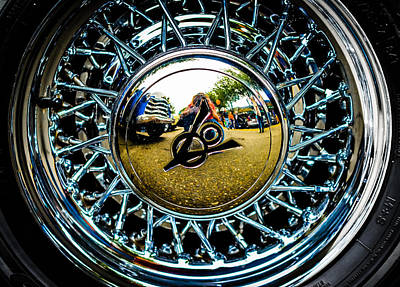 Photograph - V8 Reflections by Ronda Broatch