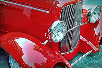 Art Print featuring the photograph V8 by Victor Montgomery