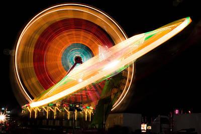 State Fair Photograph - Va State Fair by Vinod Menon