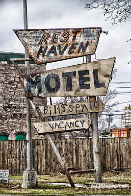 Photograph - Vacancy by Jim McCain