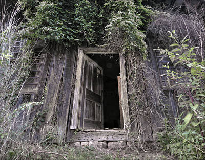 Abandoned House Photograph - Vacancy Leicester North Carolina by Thomas Silver