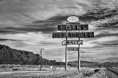Photograph - Vacancy by Michael Yeager