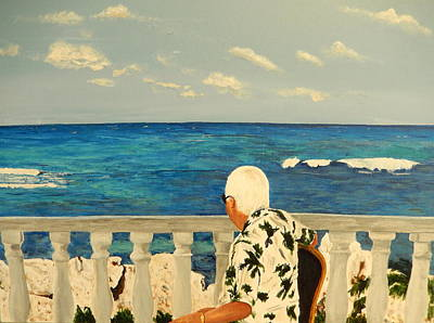 Painting - Vacation Day In Jamaica by Betty-Anne McDonald