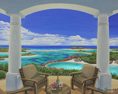 Painting - Vacation View by Jane Girardot