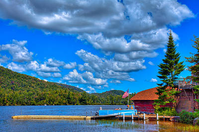 Photograph - Vacationing On Big Moose Lake by David Patterson
