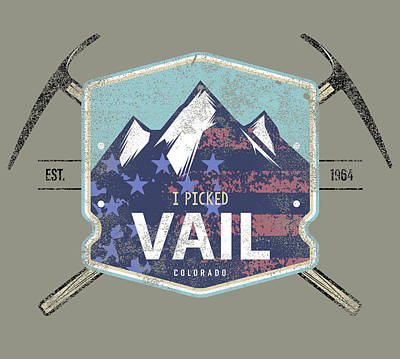 Vail Painting - Vail II by Jim Baldwin
