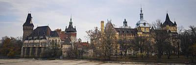 Fantasy Royalty-Free and Rights-Managed Images - Vajdahunyad Castle Panorama by David Waldo