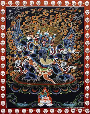 Painting - Vajrakilaya Dorje Phurba by Sergey Noskov
