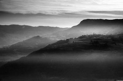 Photograph - Mountains of Val d'Arda by Claudio Rancati