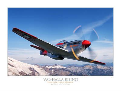 Photograph - Val-halla Rising by Lyle Jansma