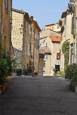 Valbonne - French Village Of Contradictions Art Print by Christine Till