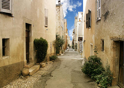 Valbonne - History And Charm  Art Print by Christine Till