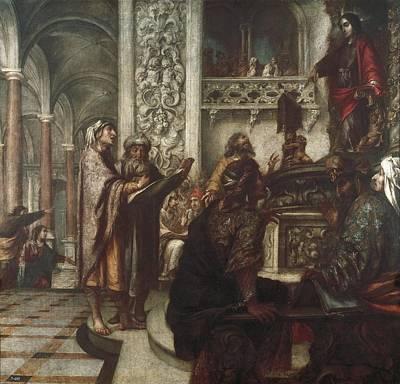 1690 Photograph - Vald�s Leal, Juan De 1622-1690. Jesus by Everett