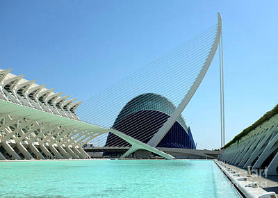 Photograph - Valencia Bridge by Jan Daniels