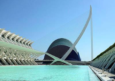 Photograph - Valencia Bridge by Jan Daniels