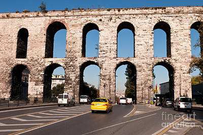 Photograph - Valens Aqueduct 02 by Rick Piper Photography